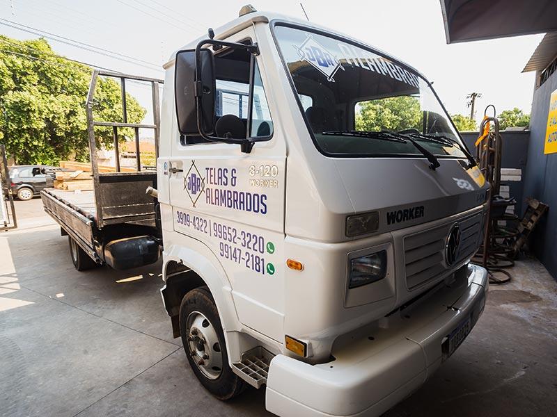 Caminhão para entregas